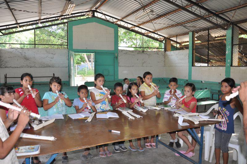 Educando a la niñez, para un futuro sin Violencia, fase 3