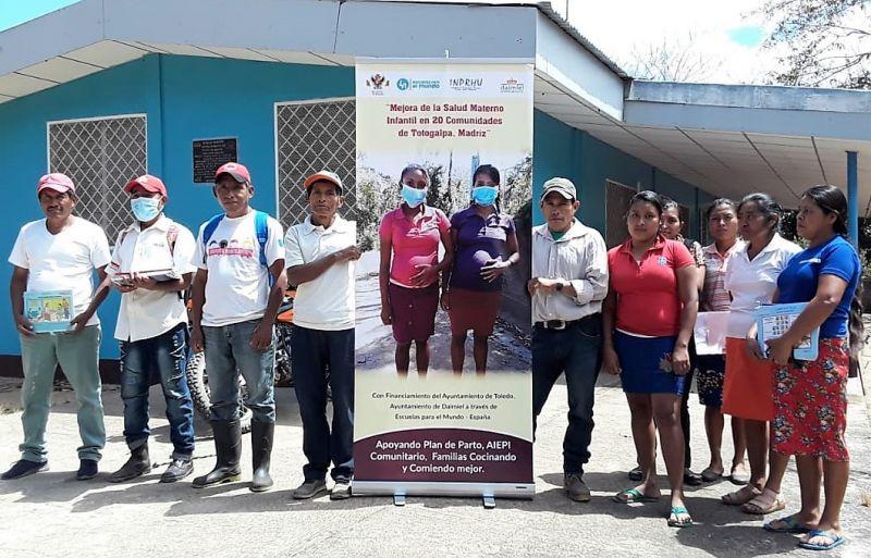Mejora de la salud materno infantil en 20 comunidades del municipio de Totogalpa, Nicaragua.
