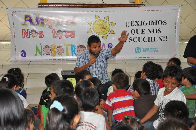 Educando a la niñez, para un futuro sin Violencia, fase 2