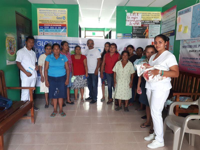 Mejora de la salud materno infantil en 15 comunidades del Municipio de San Lucas, Departamento de Madriz, Nicaragua