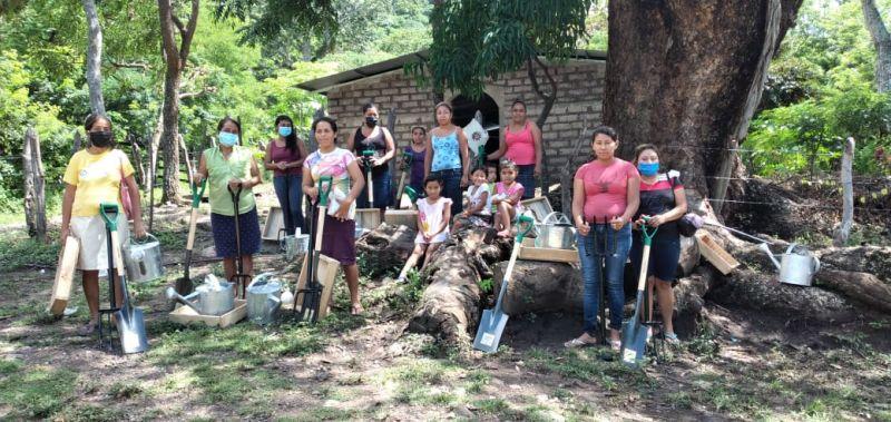 Fortalecimiento de la seguridad alimentaria mediante el establecimiento de huertos biointensivos en cinco comunidades rurales del Municipio de San Lucas, Nicaragua.