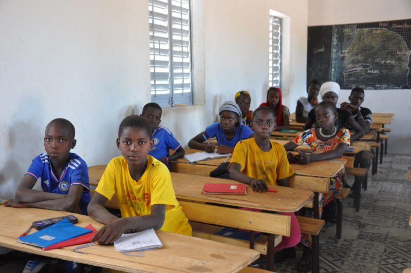 Mejora del acceso a la educación primaria de niñas y niños de Nemouratou, Senegal