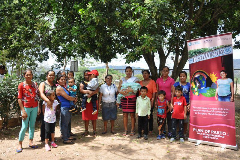 Mejora de la salud materno infantil en 20 comunidades del Municipio de Totogalpa, Departamento de Madriz, Nicaragua